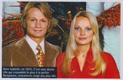 Article : Isabelle Fôret La Compagne De Claude François