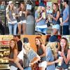.02.07.10 -  Miley, Melissa Ordway et Liam ont été chez Robeks Juice à Toluca Lake. _