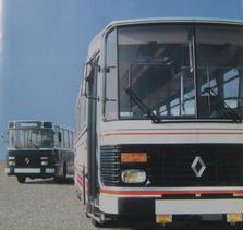 Renault s53r (1977-1987) paperbus