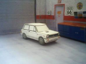 Autobianchi A112 maquette / paper model (by me)