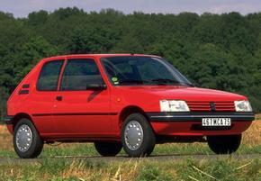 Peugeot 205, 3 portes maquette (by me)
