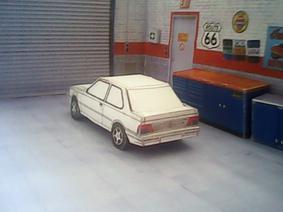 Peugeot 309 / Talbot Arizona 3 portes maquette (by me)