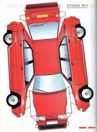 Citroen BX maquettes