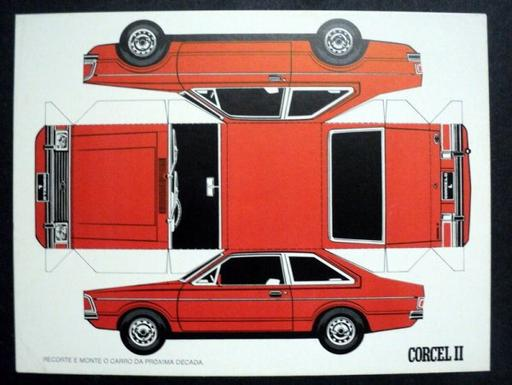 Ford Corcel 2 maquettes