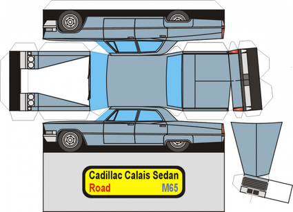 Cadillac Calais maquette