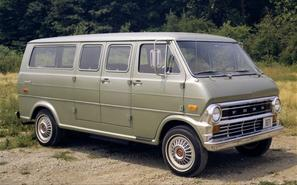 Ford Econoline 1968 maquette (by me)