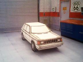 Plymouth Horizon maquette résultat (by me)
