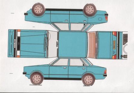 Ford Cortina / Taunus maquettes