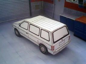 Chrysler Voyager 1990 maquette résultat (by me)