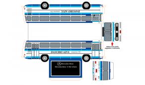 Mercedes-Benz maquettes de bus/cars