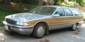 Chevrolet Caprice Wagon / Buick Roadmaster Estate 1991 maquette (by me)