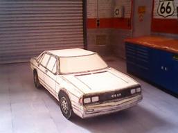 Audi 200 maquette résultat (by me)