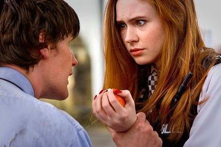 La relation entre Amy et le Docteur