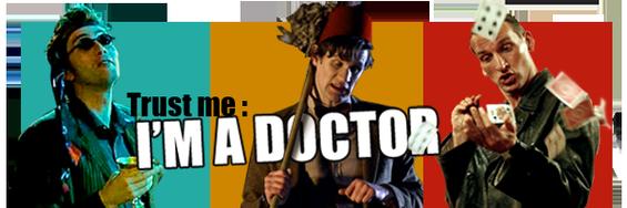 Ici les aventures d'un Aliens, d'un Seigneur du temps : Le Docteur !