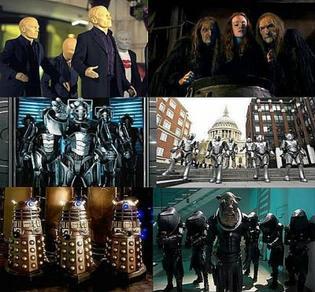 Les ennemis du Doctor
