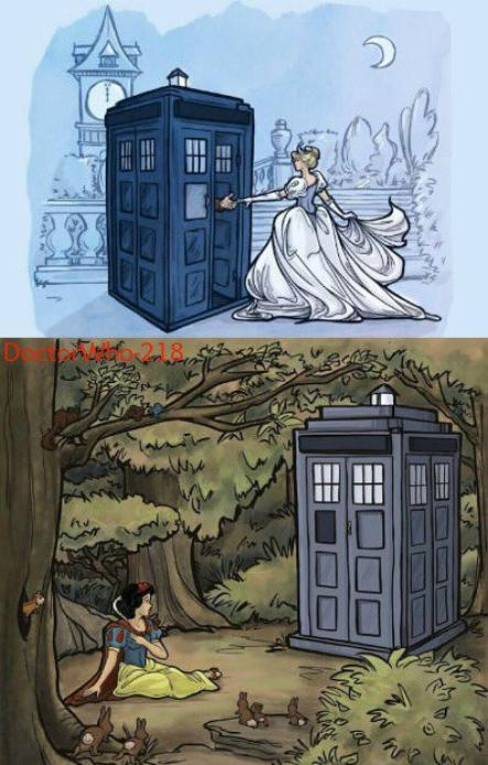 Doctor Who s'invite chez les Disney !