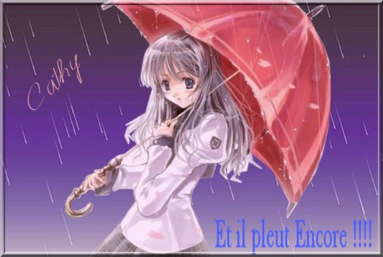et le retour de la pluie !!!!