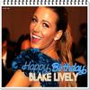 ●● Joyeux anniversaire à notre magnifique Blake Lively !  Elle fête aujourd'hui ses 23 ans. Une idée de cadeau de la part de Penn ? ♥