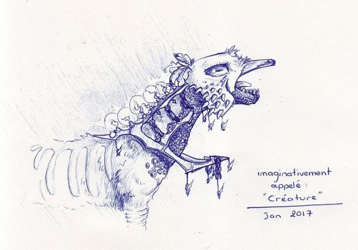 """Imaginativement appelé """"Créature"""""""