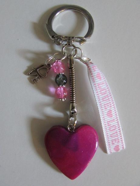 porte clef coeur
