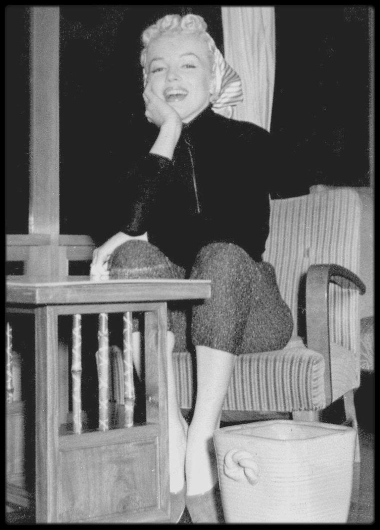 1954 / Marilyn au Japon