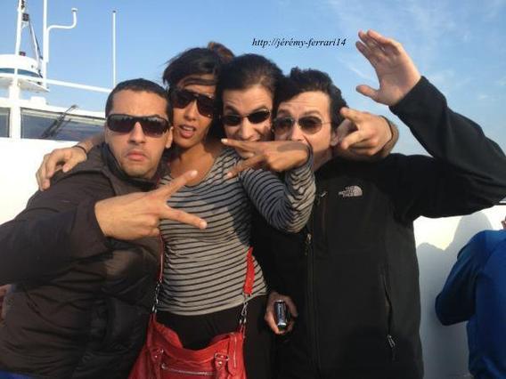 Jérémy  , en tournage avec quelques amis pour fort boyard :D !