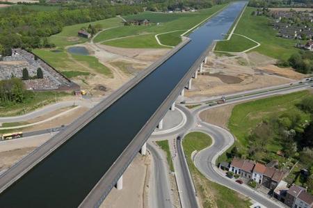 Le Canal Du Centre Belgique Le Pont Canal Chez Anou