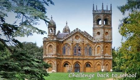 Challenge Back to school 2016 - 2017.