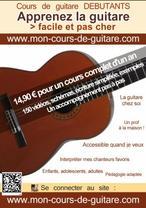 La guitare pour tous et pour jouer ses chanteurs favoris !