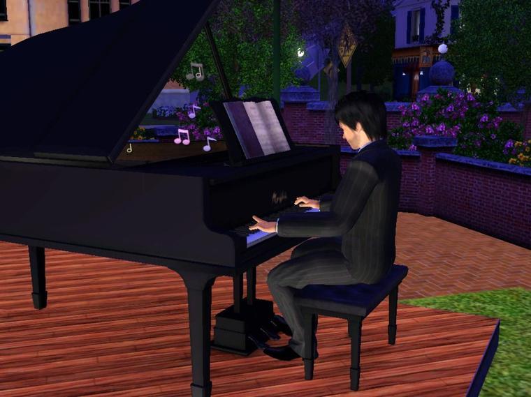Embrouille et musique au parc