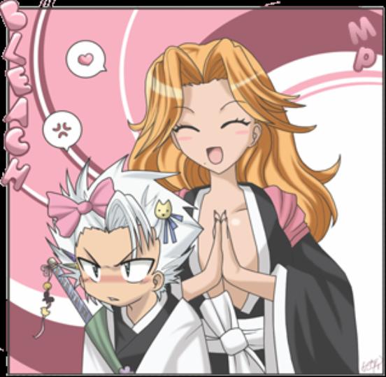 hitsugaya toushirou et rangiku matsumoto