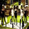 Sur la photo : Kaya Scodelario (Effy Stonem), Kathryn Prescott (Emily Fitch), Megan Prescott (Katie Fitch), Lily Loveless (Naomi _____________Campbell) & Klariza Clayton (Karen Mclair)