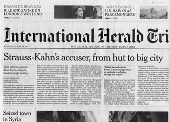DSK : une plaignante sans histoire selon le New York Times