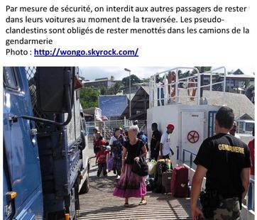 COMORES / MAYOTTE : Les Kwassas viennent au secours des barges