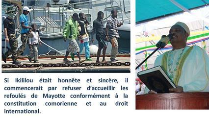 Comores / Mayotte : le dialogue avec les mahorais n'est pas la solution