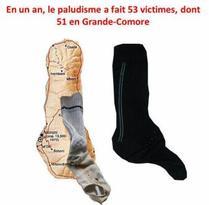 Lutte contre le paludisme : des chaussettes sales utilisées comme pièges à moustiques