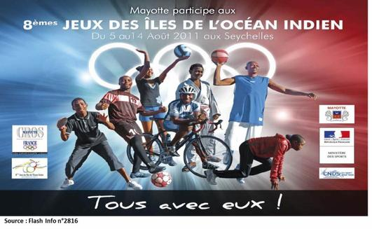 Mayotte participe aux Jioi avec la probation des Comores