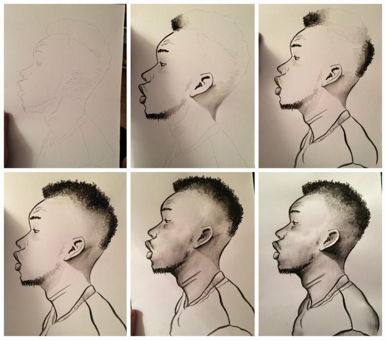 Si Quelqu'un est intéressé et veux un portrait ! ;)