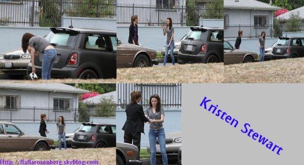 Kristen a eu un accident de voiture avec une autre conductrice le 14 juillet.