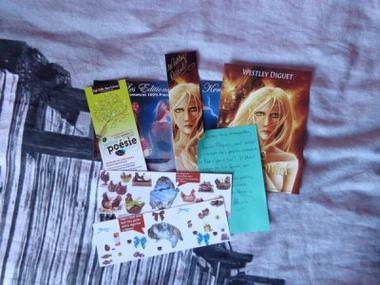 In My Mailbox #5 - Août