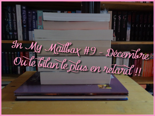 In My Mailbox #9 - Décembre
