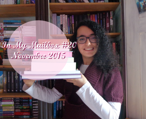 In My Mailbox #20 - Novembre 2015