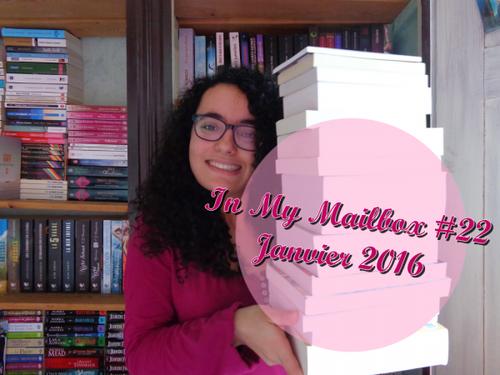 In My Mailbox #22 - Janvier 2016