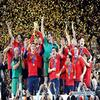 Spain the  World Champion i'm soooooo happppy