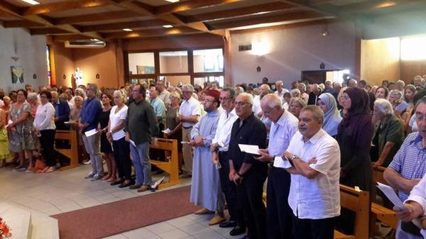 Messe pour la Paix et pour l'unité du peuple de Dieu !  قداس إلهي من أجل السلام ووحدة شعب الله.