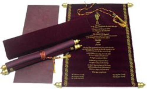 A Guide To Types Of Indian Wedding Invitation Cards Scroll