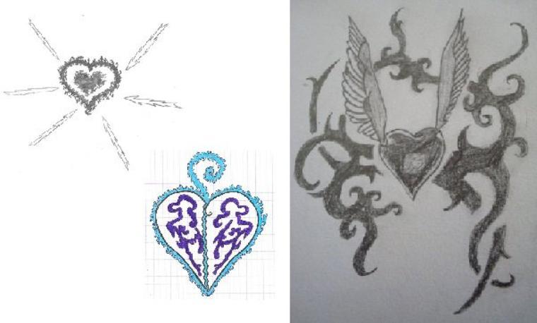 Des coeurs, des coeurs et encore des coeurs :3