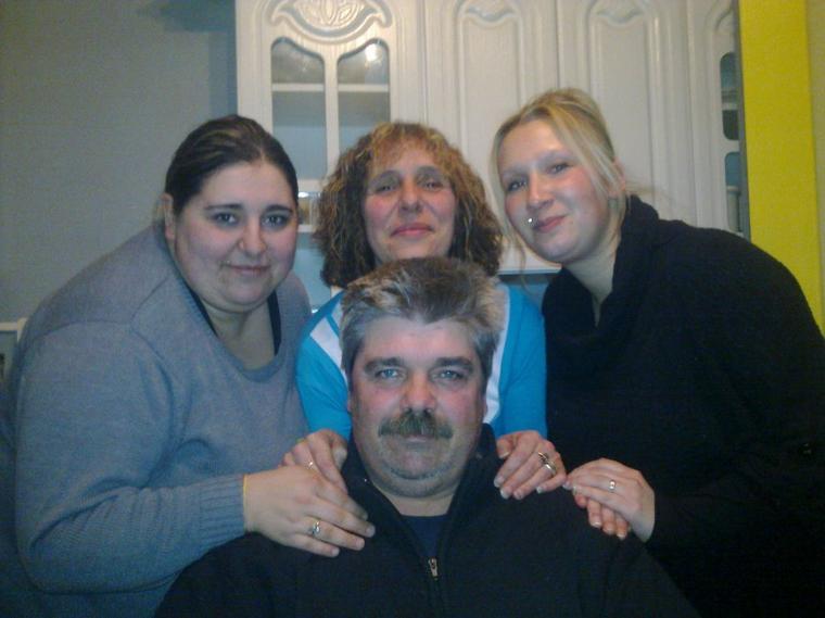 moi mes parents et ma belle soeur