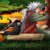 Jyraya et Naruto