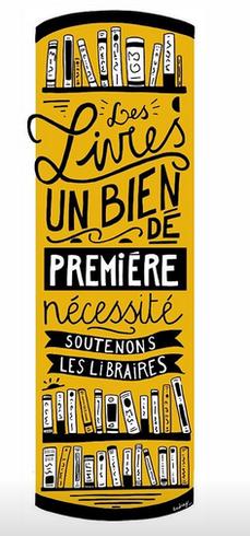 On ira tous en librairie!!: Astuce pour soutenir les libraires pendant cette période !!